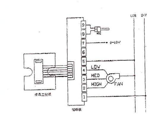 电气接线图  安装警告:接线一定按照电气接线图正确接线,切勿